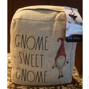 RAE DUNN GNOME SWEET GNOME DOORSTOP